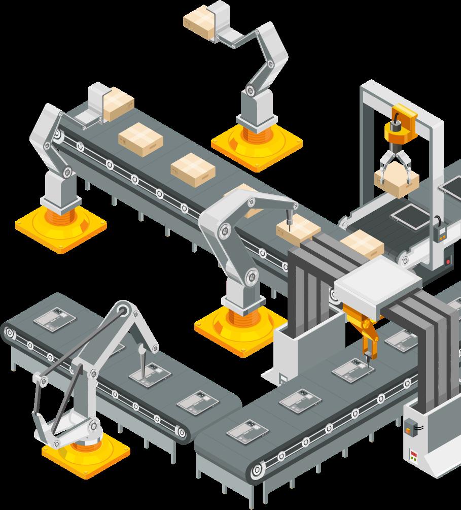 System transportu technologicznego